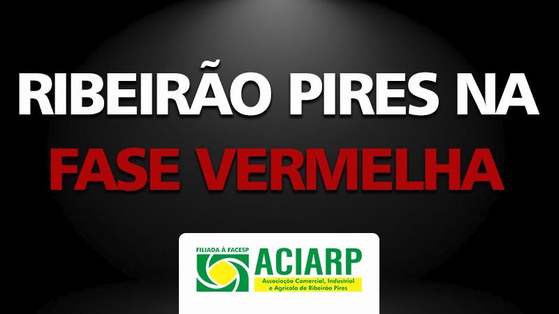 DECRETO - REGRESSÃO PARA FASE VERMELHA em Ribeirão Pires